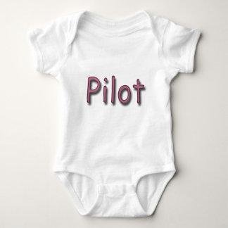 Pilot purple baby bodysuit