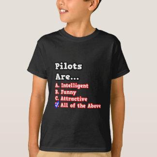 Pilot Quiz...Joke T-Shirt