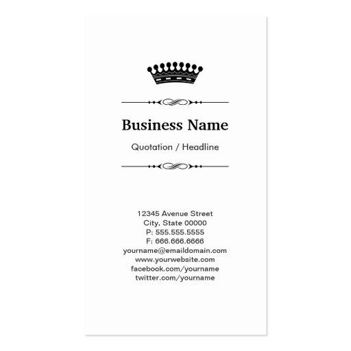 Pilot Royal Black Wood Grain Business Card Templates (back side)