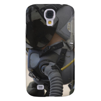 Pilot sits in his A-10 Thunderbolt II Samsung Galaxy S4 Cover