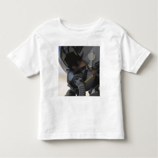 Pilot sits in his A-10 Thunderbolt II Toddler T-shirt
