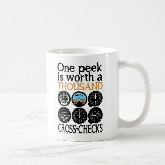 Pilot Six Pack - Cross Check Coffee Mug