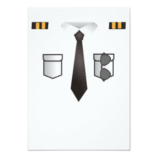Pilot Suit Funny Airplanes Boys Men Card