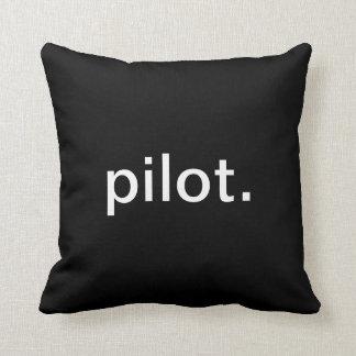 Pilot Throw Pillow