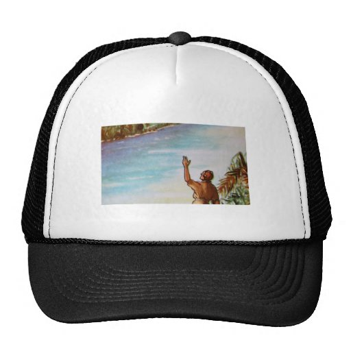 Pilot Waving Hat