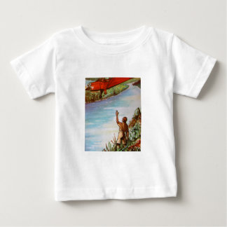 Pilot Waving Infant Tee Shirt