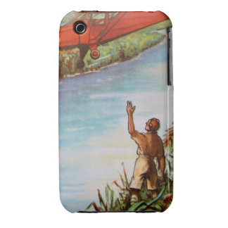 Pilot Waving iPhone 3G/3GS Case-Mate Barely There Case-Mate iPhone 3 Case