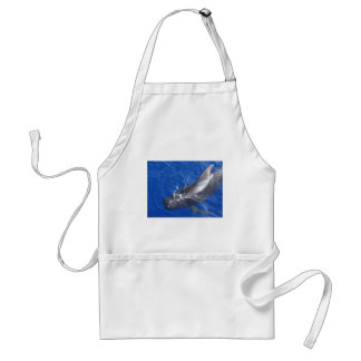 Pilot Whale in Hawaii Adult Apron