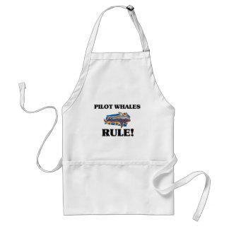 PILOT WHALES Rule! Adult Apron