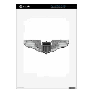 PILOT WINGS DECAL FOR iPad 2