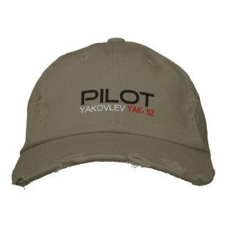 Pilot YAK-52 Embroidered Baseball Hat