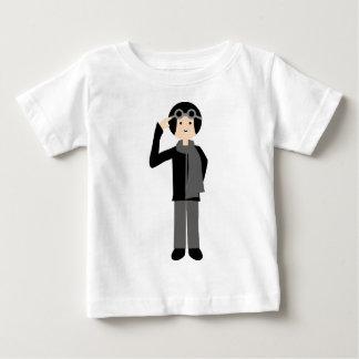 PilotBlack1 Baby T-Shirt