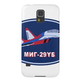 Piloten Ausbildungsabzeichen auf MIG 29 UB Trainer Galaxy S5 Case