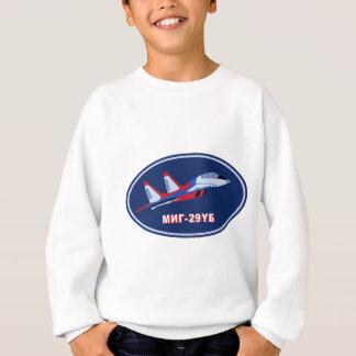 Piloten Ausbildungsabzeichen auf MIG 29 UB Trainer Sweatshirt