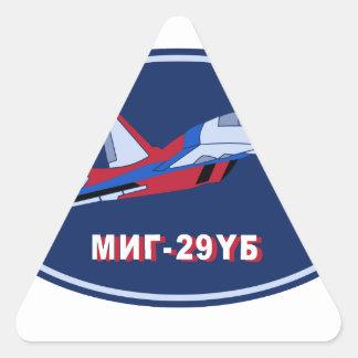 Piloten Ausbildungsabzeichen auf MIG 29 UB Trainer Triangle Sticker