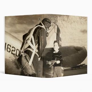 """Piloto 1940 y muchacho militares americanos de los carpeta 1"""""""