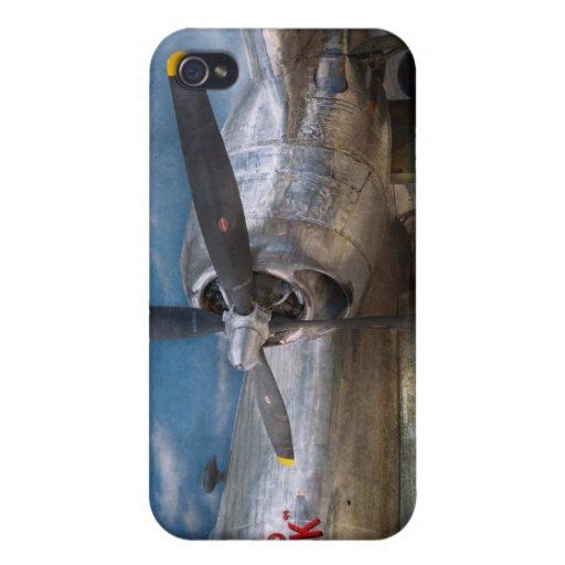 Piloto - avión - el B-29 Superfortress iPhone 4/4S Carcasas