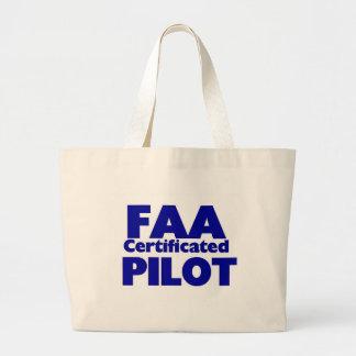 Piloto certificado FAA Bolsa De Mano