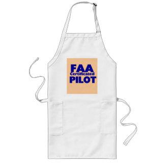 Piloto certificado FAA Delantales