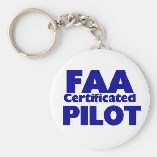 Piloto certificado FAA Llaveros