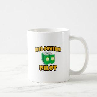 Piloto Cerveza-Accionado Taza De Café
