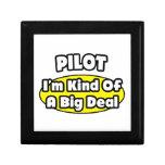 Piloto = clase de una gran cosa caja de joyas