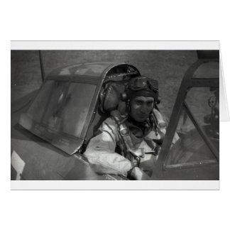 piloto de caza tarjeta