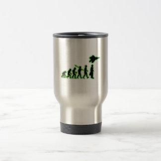 Piloto de caza tazas de café