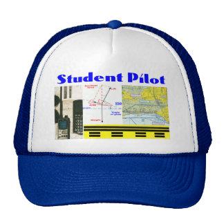 Piloto de estudiante gorros