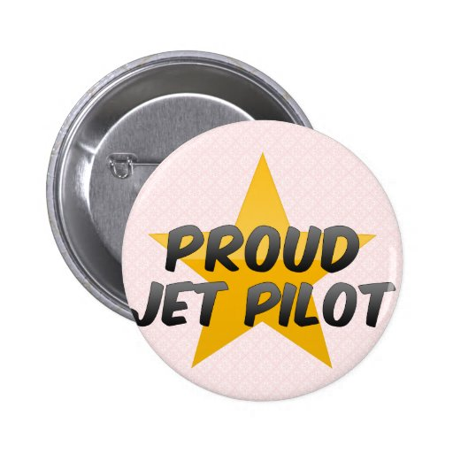 Piloto de jet orgulloso pin