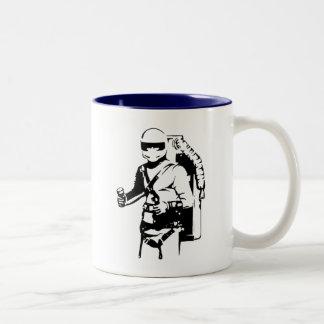 Piloto de Jetpack Taza De Café