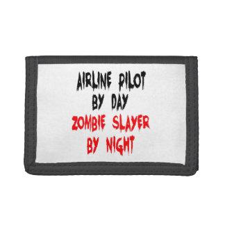 Piloto de la línea aérea del asesino del zombi