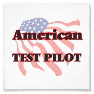 Piloto de prueba americano fotografía