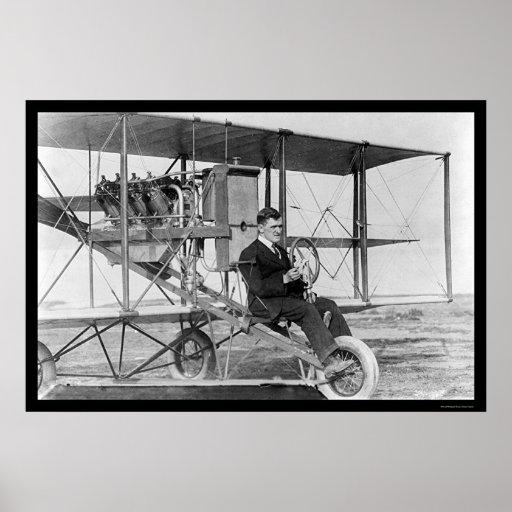Piloto de truco Lincoln Beachey 1912 Impresiones