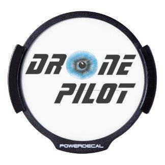 Piloto del abejón con el globo del ojo pegatina LED para ventana