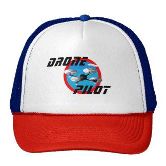 Piloto del abejón, logotipo azul gorras de camionero