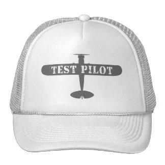 Piloto del aeroplano y de prueba gorra