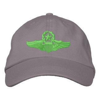 Piloto del comando gorra bordada