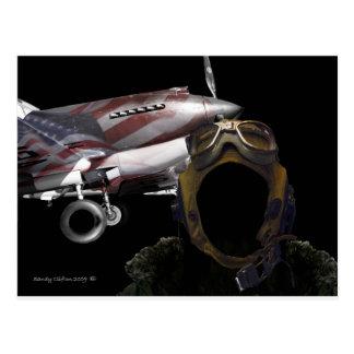 piloto del fantasma postal