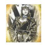 Piloto del fineart F081 del vintage Blocs De Papel