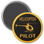 Piloto del helicóptero imán