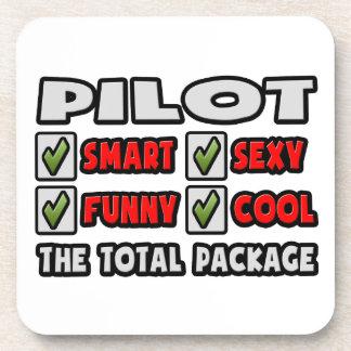 Piloto… el paquete total posavaso