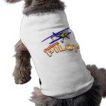 Piloto futuro camisa de perrito
