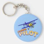 Piloto futuro llaveros