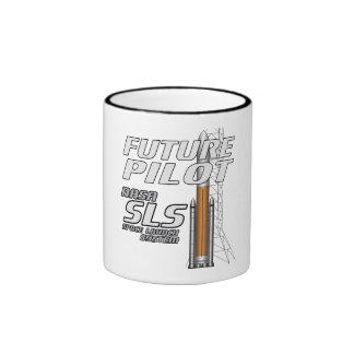 Piloto futuro taza de dos colores