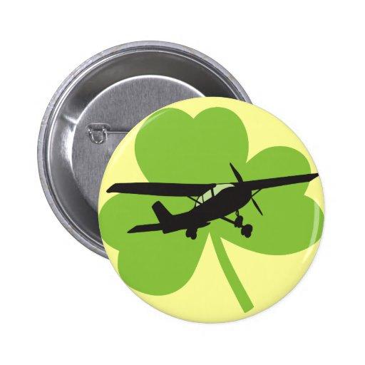 Piloto irlandés afortunado pins