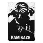 Piloto japonés blanco y negro del kamikaze