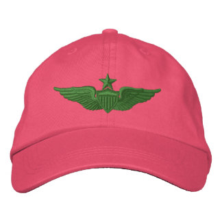 Piloto mayor del ejército gorros bordados