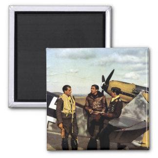Pilotos alemanes ME-109 de WWII Iman
