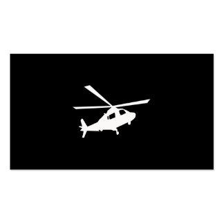Pilotos del helicóptero tarjeta de visita